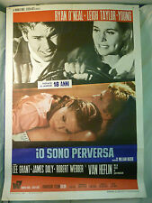 Io Sono Perversa manifesto poster O'Neal Grant Leigh Taylor-Young The Big Bounce