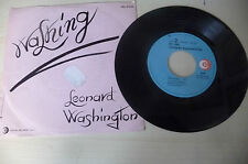 "LEONARD WASHINGTON"" WASHING-disco 45 giri RICORDI It 1982"" DISCO FUNKY"
