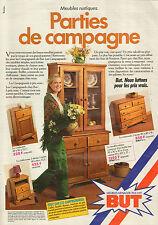 Publicité 1981  BUT meubles menager télé hifi