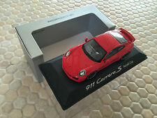 PORSCHE DESIGN MINICHAMPS 911 991 CARRERA S AEROKIT CUP 1/43rd MODEL NEW 2014-15