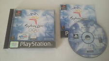 SYDNEY 2000 - SONY PLAYSTATION - JEU PS1 PSX COMPLET