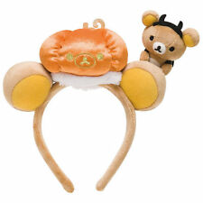 New San-X Rilakkuma Halloween 2015 Headband Cosplay Toy Plush Stuffed Cute Japan
