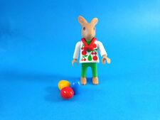 Playmobil Conejo pasqua con huevos school rabbit kid with easter egg 4450, 4455