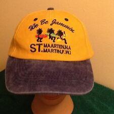 We Be Jammin St. Maarten. FWI hat baseball cap, Adjustable