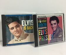 Elvis Presley 2 Music CD Lot ESSENTIAL ELVIS THE FIRST MOVIES and ELVIS IS BACK