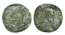 pci0514) Regno di NAPOLI Filippo II RE (1598 - 1621) Tarì Busto DX testa nuda