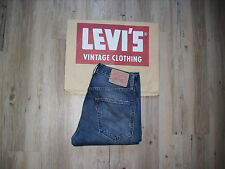 LEVIS LVC 505-0217 w30 l34 Big E vintage clothing selvedge/selvage