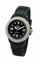 Ice-Watch Stone - Black Silver Sili - Small