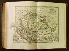 1854c,SPRUNER ATLAS..UNGHERIA UNGARN NEL 1526.TAV.III.ETNA
