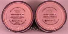 Bareescentuals bareminerals medium beige N20 6g XL MATTE foundation --  LOT of 2