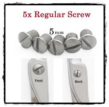 5x Replacement Regular Screw for Hair Shears Scissor Parts 5mm Free USA Ship