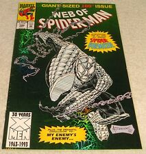 MARVEL COMICS WEB OF SPIDERMAN VOL 1 # 100 VF+