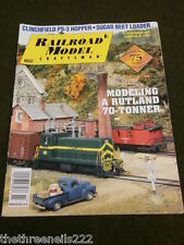 RAILROAD MODEL CRAFTSMEN - A RUTLAND 70 TONNER - NOV 2008