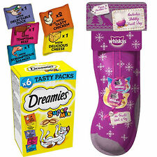 Whiskas Christmas Cat Stocking And Dreamies Supermix Pack