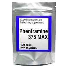 100 PHENTRAMINE 375 MAX strong diet pills SLIMMING/WEIGHT LOSS fat burner 37.5mg