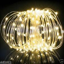 200LED Solar Powered Fairy String Lights Christmas Wedding Party Decoration