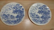 Wedgewood  & Co Countryside LTD  Two saucer (Blue and White, Made in England)
