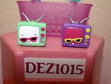 ~TEENIE TV~LOT of 2~SHOPKINS Season 3~Pic of Items U Receive~Both Colors