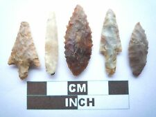 Neolithic Arrowheads x5, High Quality Selection of Styles - 4000BC - (W006)