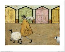 SAM TOFT - ALONG THE PROM Artprint 40x50cm