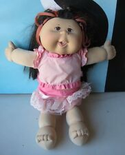 Cabbage Patch Kids Doll Asian Features Light Skin Black Hair READ DESCRIPTION