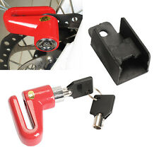 Anti Theft Disk Disc Brake Rotor Safety Lock For Bike Motorcycle Bicycle Scooter