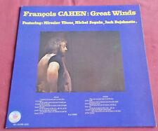 FRANCOIS CAHEN LP FR ORIG GREAT WINDS  VITOUS DEJOHNETTE