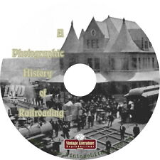 Photographic History of Railroading { 8500+ Vintage Railway Images } on DVD