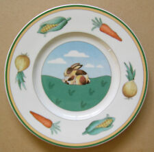 Villeroy & Boch Rabbit Design Plate 6 3/4""