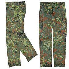 Original german army pants Bundeswehr camo flecktarn NEW Size: XXXXL 44/32   TOP