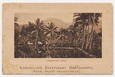 AK Cipanas, 1922, Indonesien, Niederländisch Indien, gel. Makassar n. Lübeck