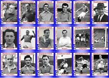Manchester United 1948 FA Cup final winners football trading cards