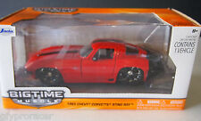 JADA 1:24 BIG TIME MUSCLE 1963 CHEVY CORVETTE STING RAY