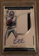 Football Hot Pack 6 Card Guaranteed Hit! EZEKIEL National Treasures Search!!