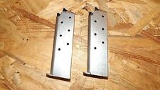 2 - NEW 7rd magazines mags clips for Colt Government .380 - STS         (C108*)