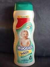 HUGGIES BABY WASH FOR HAIR & BODY EXTRA GENTLE 15 OZ TEAR FREE (USED)