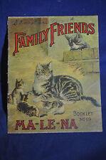 Ca *RARE* 1895 Family Friends Ma-Le-Na, Malena Corp., Warriorsmark, Pa.