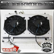 Performance Aluminum Radiator w/Fan & Shroud FOR Toyota Supra JZA70 86-92 Manual