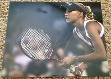 Anna Kournikova signed 8x10 Tennis Photo