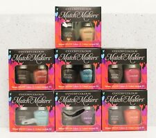 CUCCIO Colour Veneer - SET OF 7 Match Makers Kit Gel & Nail Lacquer *SHIP IN 24H