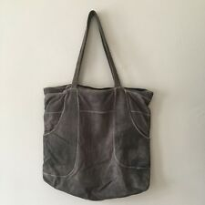 Marni Genuine Leather Tote Bag Shoulder Messenger Grey CrossBody Italy X Large