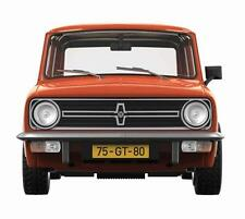 Corgi VA13504B Mini 1275GT in Vermillion LHD (Netherlands) 1:43
