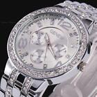 Geneva Rhinestone Crystal Lady Women Boyfriend Analog Quartz Sport Wrist Watch