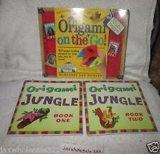 Origami on the Go!:Paper-Folding Projects & Origami Jungle book1 & book 2   (RC)