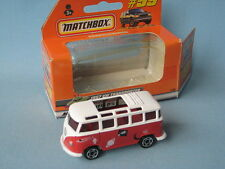 Matchbox 1967 Volkswagon VW Transporter Red and White UFO Boxed Toy Model Car