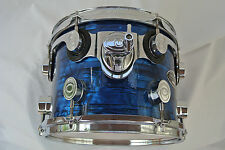 """ADD this 10"""" PDP PACIFIC by DW DARK BLUE ONYX CX RACK TOM to YOUR DRUM SET! #V69"""