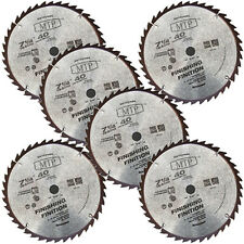 "6x  7-1/4"" inch 40T Carbide Tipped Circular Saw Blade fit Bosch Dewalt Makita"