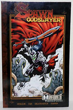SPAWN GODSLAYER #2 GREEK LETTERING COMIC GRAPHIC NOVEL COMICWORLD TODD McFARLANE
