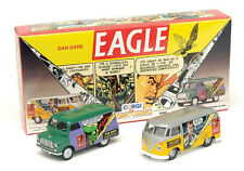 RARE CORGI VW T1 VAN THE EAGLE DAN DARE COMIC PROMO SET 1:43 NEW BOXED