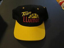 Team Llumar Unlimited Hydroplane Embroidered Baseball Cap Black & Yellow